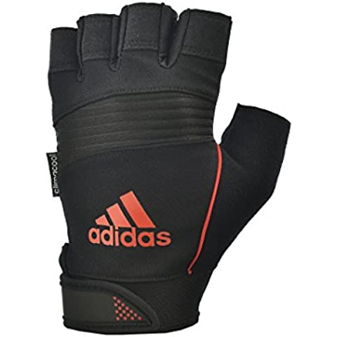 Adidas Performance guantes - NARANJA, medio