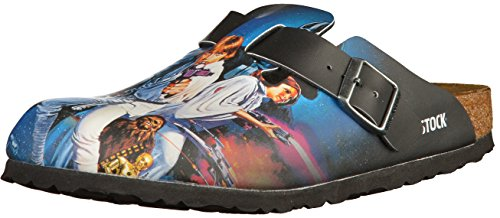 Birkenstock Boston Jungen Clogs Star Wars Heroes, EU 38