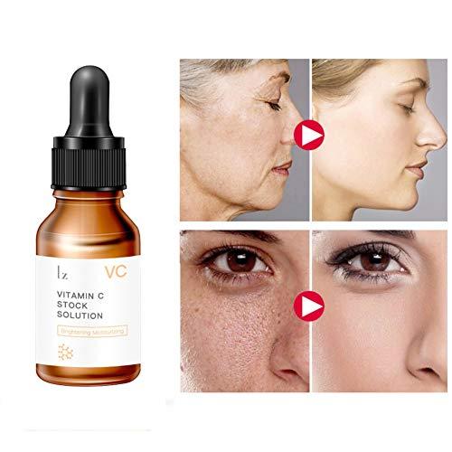 Deep Firming Serum (Allbesta Vitamin C Serum mit Hyaluronsäure Gesichtsserum Feuchtigkeitscreme Anti-Aging Skin Repair Firming)