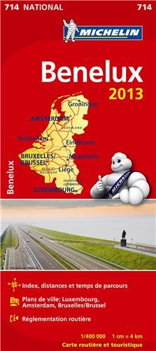 Carte NATIONALE Benelux 2013 n°714