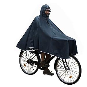 Anyoo Imperméable à l'eau Cyclisme Capes Portable Léger Pluie Poncho Vélo Vélo Compact Réutilisable Unisexe pour Randonnée Camping en Plein Air