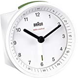 Braun BNC007WHWHRC Radio Controlled Alarm Clock