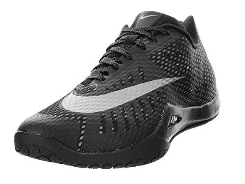 Nike Hyperlive, Scarpe Basket uomo Multicolore Negro / Plateado (Blck / Mtllc Slvr-Drk Gry-Cl Gry) 47 1/2
