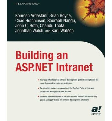[(Building an Asp.Net Intranet )] [Author: K. Ardestani] [Sep-2003] par K. Ardestani
