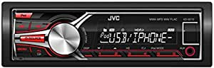 JVC KD-X210E Digital Media Receiver mit Front USB/AUX-Eingang schwarz