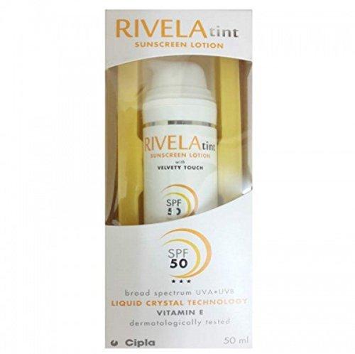Cipla Rivela tint SPF50 Sunscreen Lotion 50ml