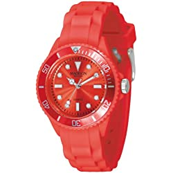 Madison New York Men's Quartz Watch Candy Time Mini L4167-11 with Plastic Strap