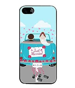 PrintVisa Designer Back Case Cover for Apple iPhone SE (Love Lovely Attitude Men Man Manly)
