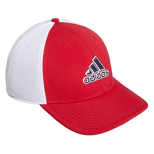 adidas A-Stretch Tour Hat Casquette De Baseball, Rouge (Rojo/Blanco Du6892), Unique (Taille...