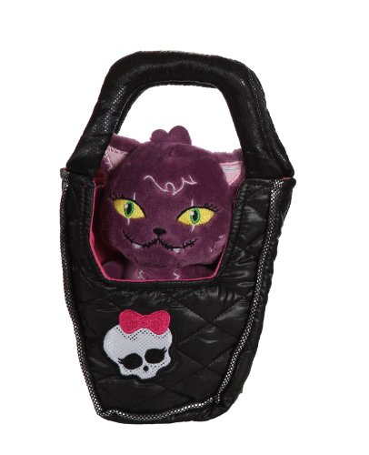 Gipsy - 070078 - Plüsch - Monster High - Crescent (Katze), Beanies in Bag, 22 cm (High-tuch Monster)