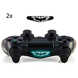 giZmoZ n gadgetZ GNG 2 x Skin-/ Decal-Aufkleber für LED-Lichtleiste des Controllers DualShock 4 für Playstation 4 PS4