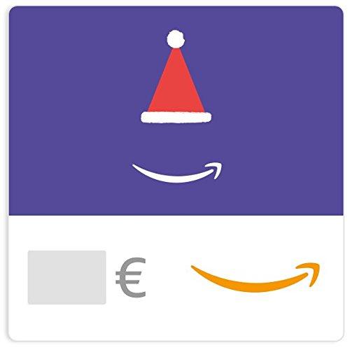 Cheques Regalo de Amazon.es - E-Cheque Regalo - Sombrero de Santa Claus