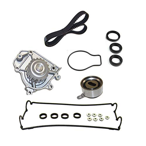 Gankmachine Timing Belt Kit Water Pump Valve Cover Replacement for 96-01 Honda Acura 1.8L 2.0L B18B1 251296007532 Auto Part