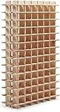 Système d' étagère à vin PRIMAVINO nature module pour 78 bouteilles - H150 x L75 x P22 cm