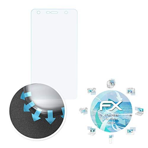 atFolix Schutzfolie passend für Allview A9 Lite Folie, ultraklare und Flexible FX Displayschutzfolie (3X)