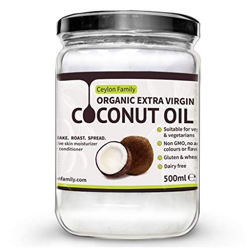 Organic Extra Virgin Coconut Oil 500ml - Oil Hair Coconut Virgin