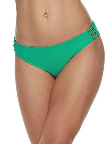 CRAVOG Bikini Slip Sommer Strand Briefs Damen Bikinihosen Badeanzug Sexy Badehose Swimwear Hollow Out Schwimm Shorts