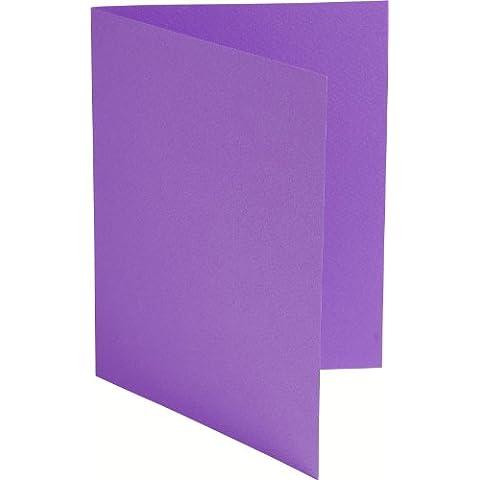 G.Lalo tarjeta Coréale almacén 20 doble Doblado Tarjetas 12 x 16 250 g 24,1 x 16 x 0,9 Violeta