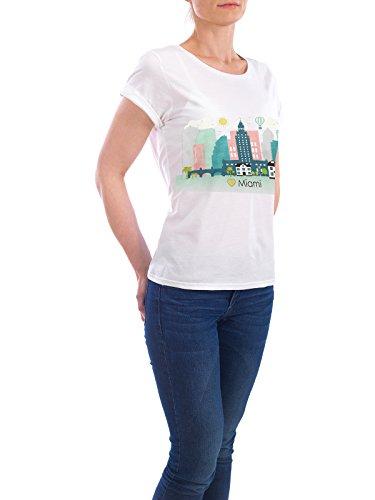 ... Reise / Länder von GREENGREENDREAMS Weiß. Design T-Shirt Frauen Earth  Positive