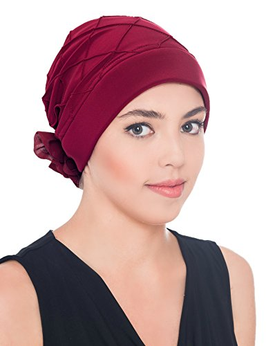 Elegante Kopfbedeckung Mit Diamant-Muster Mit Rose fur haarverlust, Krebs,...