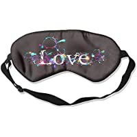 Sleep Eye Mask Love Word Lightweight Soft Blindfold Adjustable Head Strap Eyeshade Travel Eyepatch preisvergleich bei billige-tabletten.eu