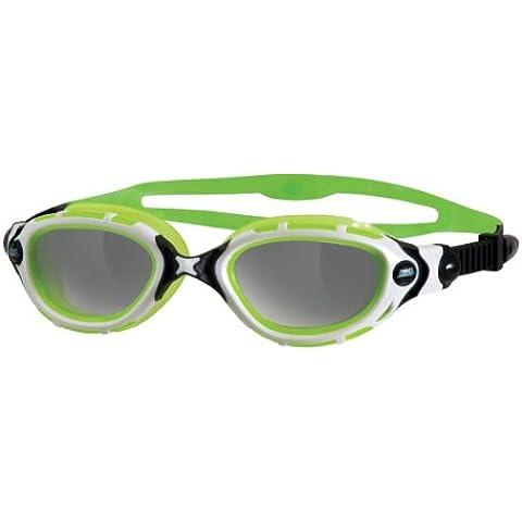 Zoggs - Gafas de natación Predator Flex Reactor para adulto, color verde