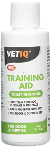 VetIQ Training Aid 60ml. Helps Toilet Train Puppies And Older Dogs Particularly When Settling Into New Home. Safe And Effective