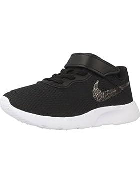 Nike Zapatillas Para Niña, Color Negro, Marca, Modelo Zapatillas Para Niña Tanjun (PSV) Negro