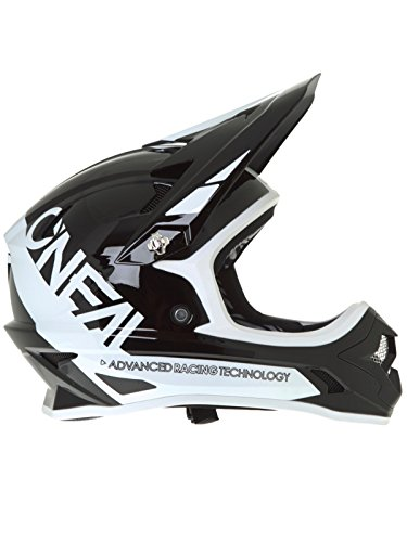 O 'Neal Backflip RL2bungarra Fahrrad Helm, schwarz/weiß, S (55–56cm)