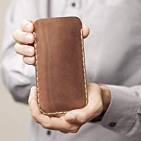 Funda leather case para el Galaxy S10+ S9+ Marrón