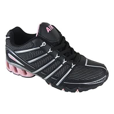 Womens Shock Absorbing Running Trainer Shoes Size UK 3