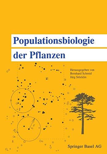 Populationsbiologie der Pflanzen (German Edition)