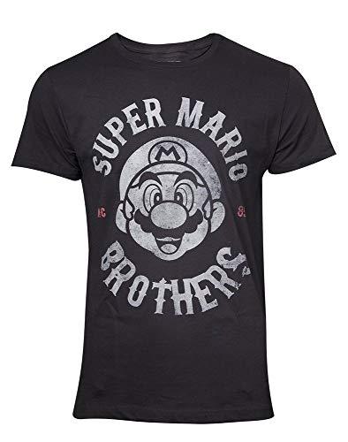 Super Mario - Biker - T-Shirt   Original Merchandise, Größe:XL