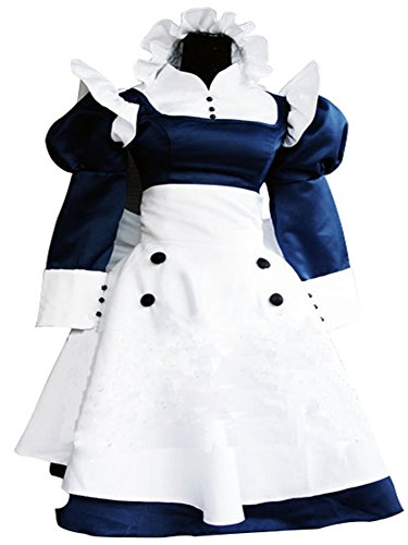 mtxc-womens-black-butler-cosplay-costume-mey-rin-maid-dress-size-x-small-white
