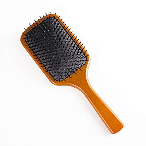 Peine, cepillo pelo paleta madera natural alfileres