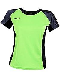 Izas Aosta - Camiseta para mujer, multicolor, talla M