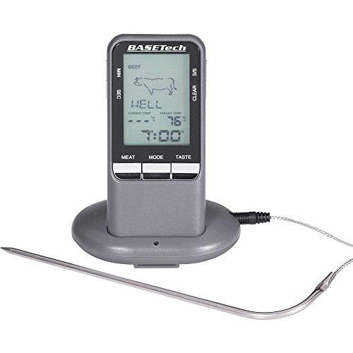 Basetech bk-bbq Thermometer Radio A Penetration für Grillrost Temperaturbereich von 0A + 2