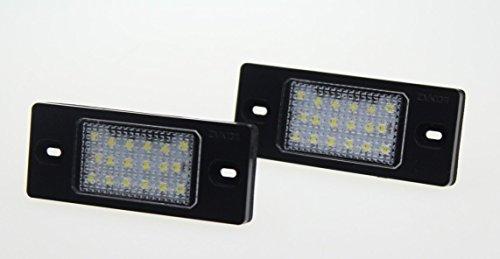Preisvergleich Produktbild TOP Led Kennzeichenbeleuchtung TÜV-FREI Passat Variant 3BG 00-05 Tiguan Cayenne 02-10