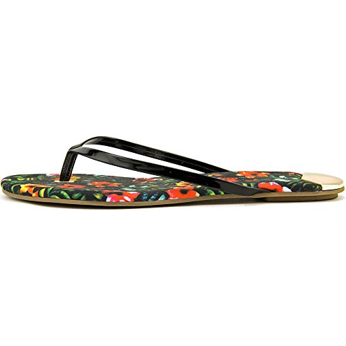 DV By Dolce Vita Derika Synthétique Tongs Black Floral