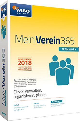 WISO Mein Verein 365 Teamwork Software