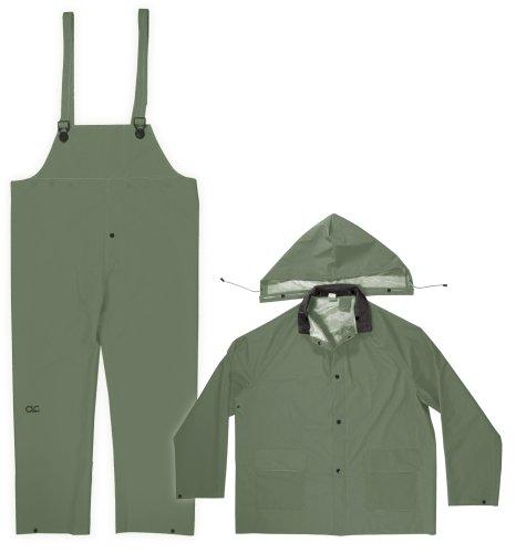 CLC Regen tragen Ring mm grün 3-teilig Regen Anzug, R131L (Tragen Ring Anzüge)