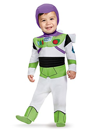 Disguise Costumes Buzz Lightyear Deluxe Costume (Infant), 6-12 Months by (Deluxe Bambino Buzz Lightyear Costume)