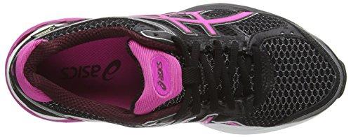 ASICS T5F7N Gel-Pulse 7 G-TX, Scarpe da Corsa, Donna Nero (Black/Pink Glow/Royal Burgundy 9035)