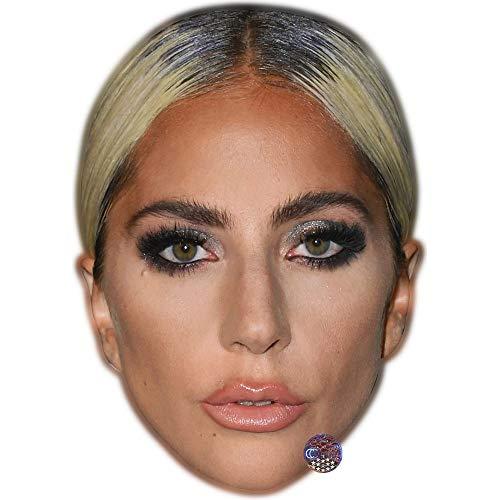 Celebrity Cutouts Lady Gaga (Pout) Maske aus Karton