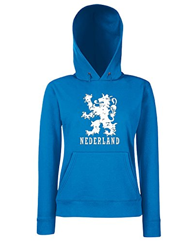 T-Shirtshock - Sweats a capuche Femme TSTEM0276 nederland kids Bleu Royal