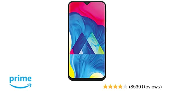 Samsung Galaxy M10 (Charcoal Black, 3+32GB)