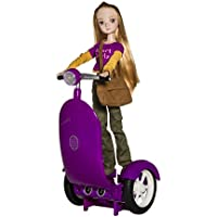 Coding Girls toy, Programmable Dolls Scooter with fashion doll, Ages 6 to 12, UPDATED APP, from beginner to advanced Block Coding
