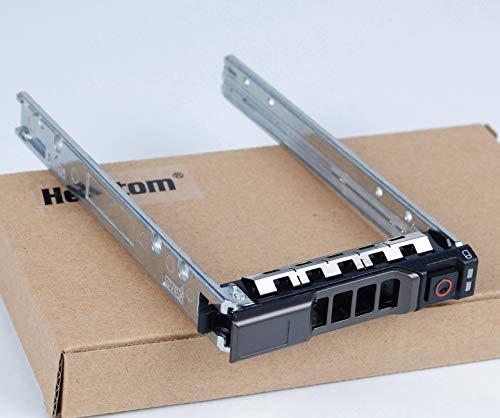 HeretomBox 4 Stück - G176J/KG7NR/WX387 2,5 Zoll SATA SAS Festplatten-Caddy Tray für Dell PowerEdge R410 T410 R420 T420 R430 T320 T620 T630 R710 R720 R730 Schrauben enthalten