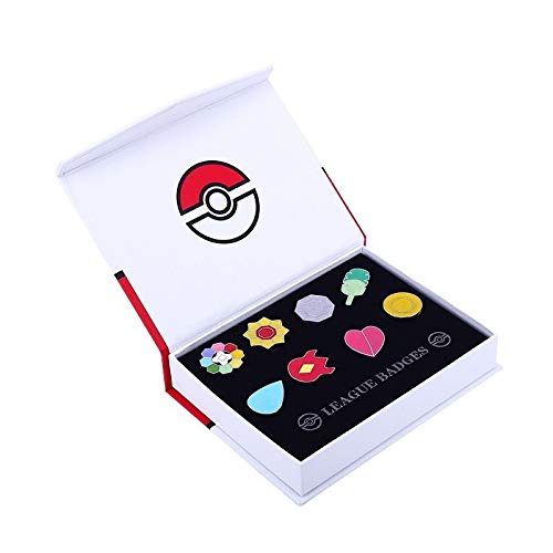 Pokemon Gym Badges set of 8PCS ()