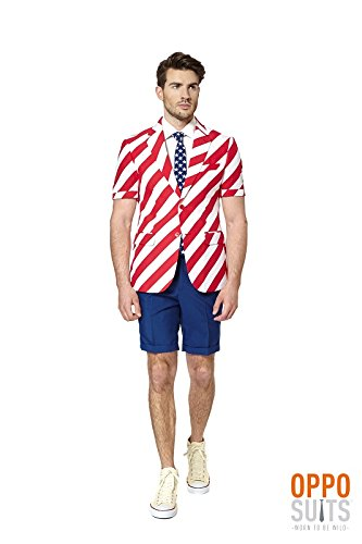 Opposuit Summersuit United Stripes USA Sommer Anzug Slimline 3-teilig Gr. ()